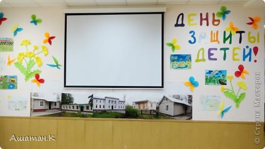 Очень хочется показать как мы с детьми украсили наш холл к празднику. фото 1