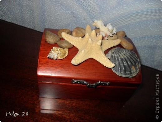 Шкатулка в морском стиле. фото 1