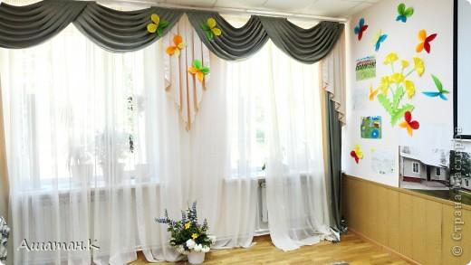 Очень хочется показать как мы с детьми украсили наш холл к празднику. фото 2