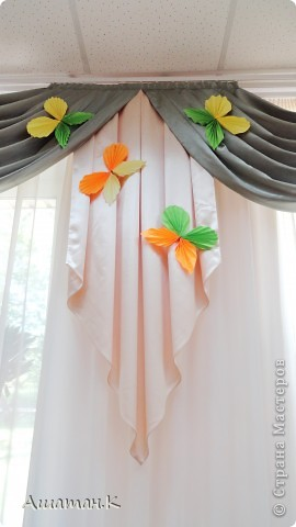 Оригами цветы шарами