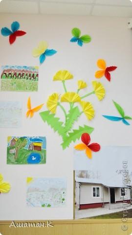 Очень хочется показать как мы с детьми украсили наш холл к празднику. фото 5