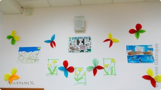 Очень хочется показать как мы с детьми украсили наш холл к празднику. фото 9