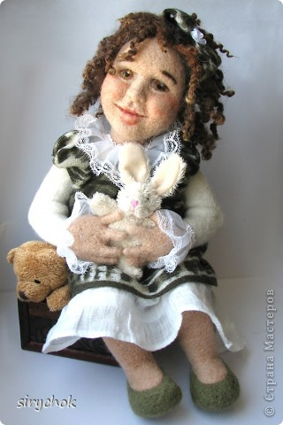 .войлочная кукла Алиса
