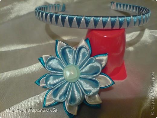 Моё хобби - канзаши и изделия из атласных лент фото 6