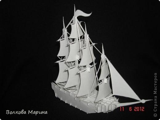 Кораблик Бумага фото 1