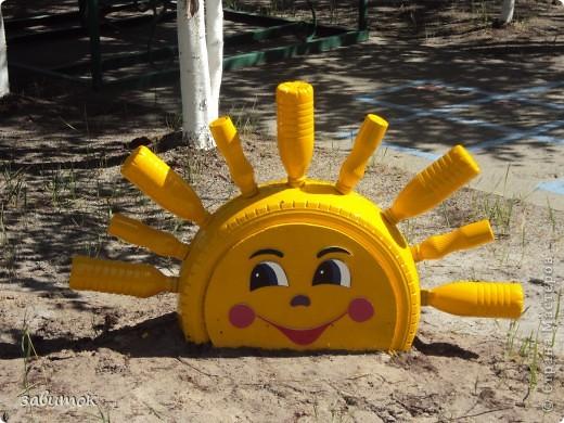 Оформляем детский сад .....лето!!!!! фото 5