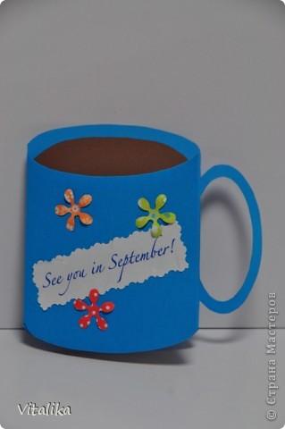 Завтра все мамочки из класса Доминики встречаются на утреннем кофе по поводу окончания года. Приготовила для каждой из них открыточки. Возможно, с кем-то мы действительно не сможем встретиться в будущем учебном году, но очень хочется увидиться снова! фото 1