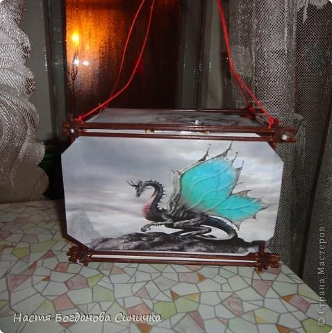 Это творение моего брата. Фонарик светится))) фото 1