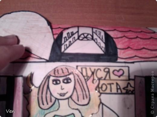 """Всем привет!:) Племяшка часто сидит со мной в Стране Мастеров,и вот в очередной раз,когда мы  сидели с ней в СМ,наткнулись на  бумажный домик Тимофеевны.Алина сразу загорелась:""""Хочу!"""".И вот родился этот домик для фей:) Итак...знакомьтесь:это Нюта.Она живет вместе со своей старшей сестрой Дусей. фото 2"""