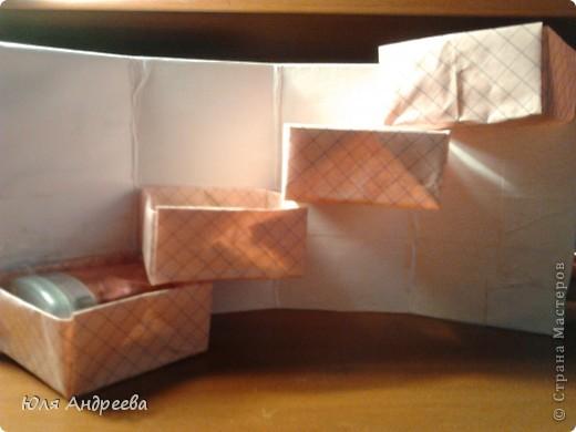 шкатулка из бумаги и картона фото 1