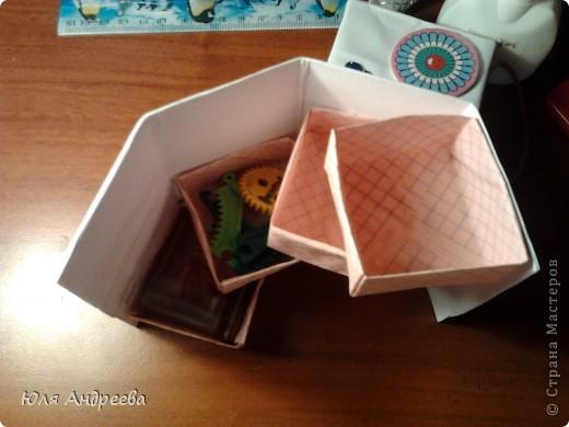 шкатулка из бумаги и картона фото 4