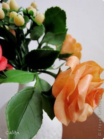К моему стыду. не знаю, как называются эти цветы. Делала их по книге. она на японском языке. фото 5