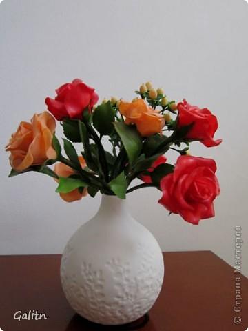 К моему стыду. не знаю, как называются эти цветы. Делала их по книге. она на японском языке. фото 7