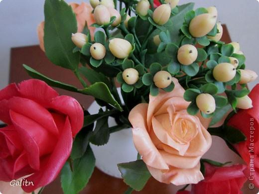 К моему стыду. не знаю, как называются эти цветы. Делала их по книге. она на японском языке. фото 8