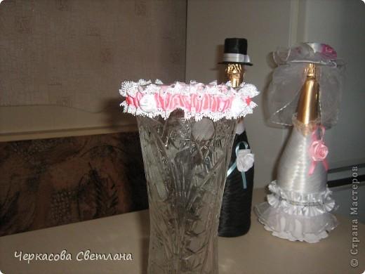 Свадебная подвязка -СЧАСТЛИВАЯ, её кидает жених свом друзьям! фото 7