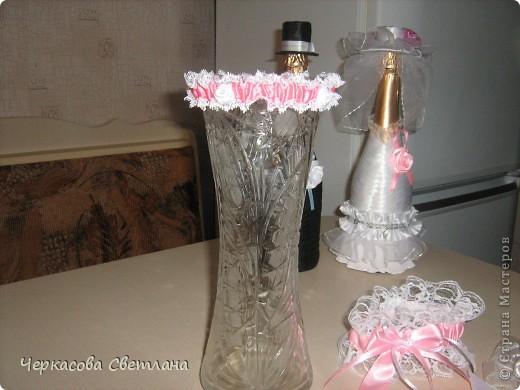 Свадебная подвязка -СЧАСТЛИВАЯ, её кидает жених свом друзьям! фото 6