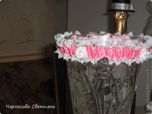 Свадебная подвязка -СЧАСТЛИВАЯ, её кидает жених свом друзьям! фото 5