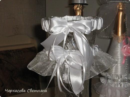 Свадебная подвязка -СЧАСТЛИВАЯ, её кидает жених свом друзьям! фото 3