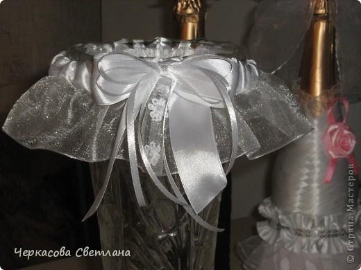 Свадебная подвязка -СЧАСТЛИВАЯ, её кидает жених свом друзьям! фото 1