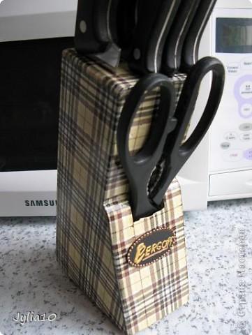 Вот так обновилась моя подставка для ножей. фото 1