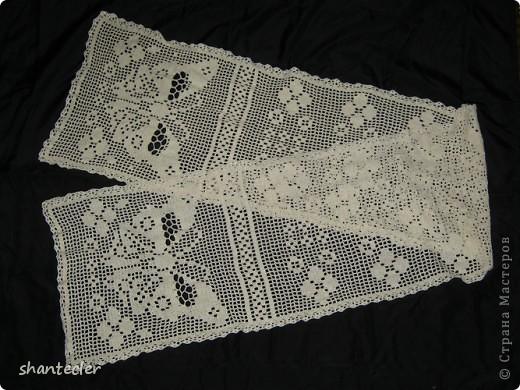 Летний шарф. Ширина - 45 см, длина - 205 см. фото 2
