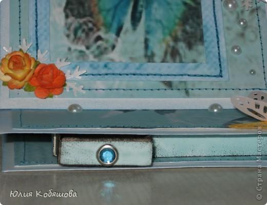 Смастерила рамочку-стойку для маленькой фотографии одной хорошей знакомой. Надеюсь ей понравится и она вставит какое-нибудь милое фото: свое, или своей дочки. Думаю все поняли, что фото надо будет вставить вот в этот синий прямоугольник, слева есть для этого разрез. фото 8