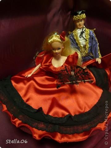Очень давно не шила на кукол, не люблю возиться с такой мелочью,....  но ....  принесли кукол и заказали на них костюмы... Вот что получилось: первая парочка - китайцы фото 5