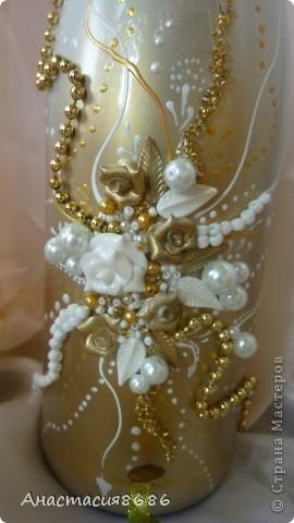 В последнее время что то много заказывают бело золотые бутылки. Прямо золотая лихорадка......;)) фото 5
