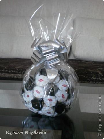 Мастер класс подарки из конфет
