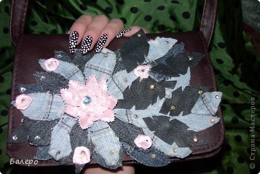 Захотелось старую сумку обновить! вот что получилось)))) фото 2