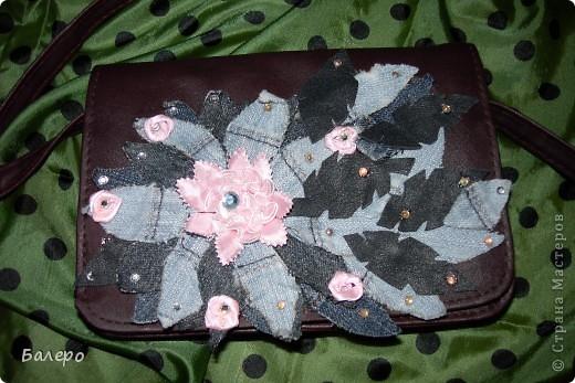 Захотелось старую сумку обновить! вот что получилось)))) фото 1