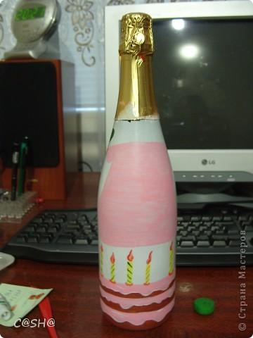 Моему двоюродному брату исполнилось 18!и что ему дарить я не знала) По этому решила  придумать что то необычное) В  я не разбираюсь,по этому выбрала то что приглянулось по цене и по форме бутылки. фото 12
