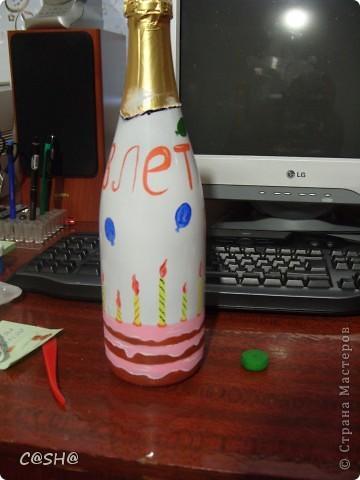 Моему двоюродному брату исполнилось 18!и что ему дарить я не знала) По этому решила  придумать что то необычное) В  я не разбираюсь,по этому выбрала то что приглянулось по цене и по форме бутылки. фото 14