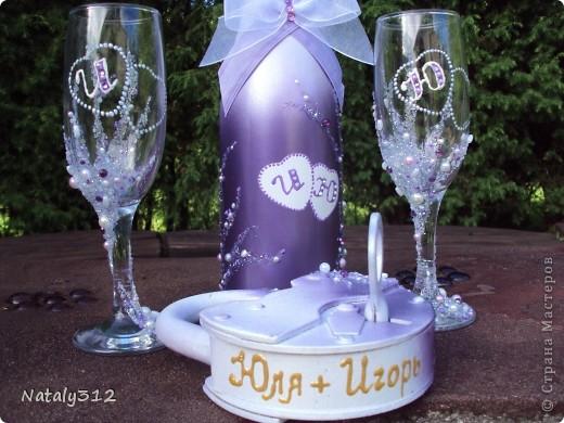 Этот набор для моей сестры. Свадьбы, как таковой, не было, но все равно захотелось создать для новобрачных праздничное настроение. фото 2