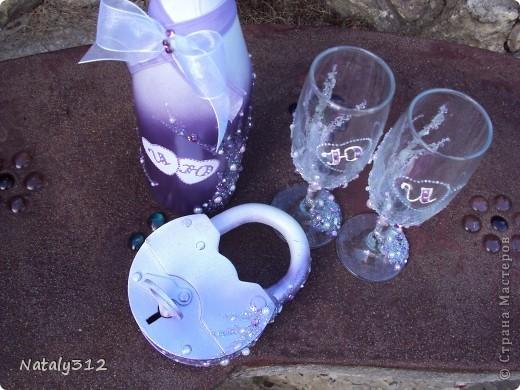 Этот набор для моей сестры. Свадьбы, как таковой, не было, но все равно захотелось создать для новобрачных праздничное настроение. фото 3