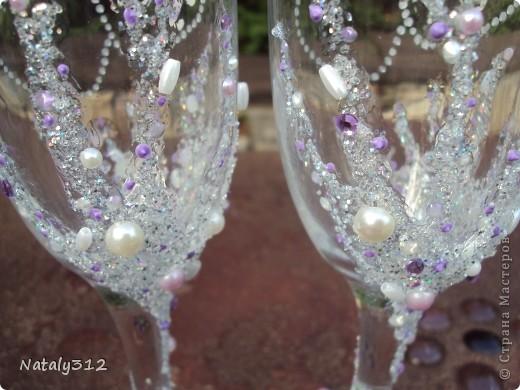 Этот набор для моей сестры. Свадьбы, как таковой, не было, но все равно захотелось создать для новобрачных праздничное настроение. фото 4