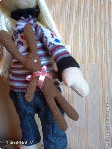 Вот такая миленькая девочка Миланочка! с шоколадным зайкой :)  фото 15