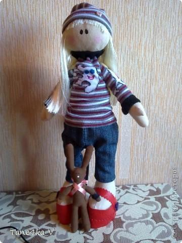 Вот такая миленькая девочка Миланочка! с шоколадным зайкой :)  фото 19