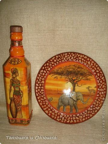 Вот такая Африка у меня получилась фото 1
