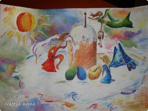 Акварельные карандаши и пастель фото 1