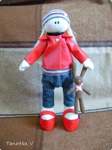 Вот такая миленькая девочка Миланочка! с шоколадным зайкой :)  фото 2