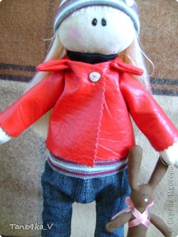 Вот такая миленькая девочка Миланочка! с шоколадным зайкой :)  фото 5