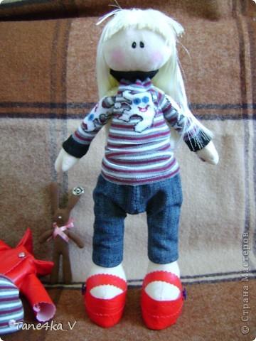Вот такая миленькая девочка Миланочка! с шоколадным зайкой :)  фото 12