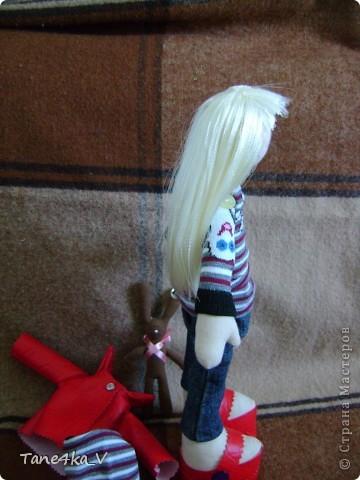 Вот такая миленькая девочка Миланочка! с шоколадным зайкой :)  фото 13