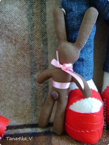 Вот такая миленькая девочка Миланочка! с шоколадным зайкой :)  фото 10