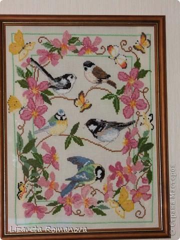 """Повесила рядом с кроваткой дочки, она на птичек перед сном любуется и просит у них """"хороший"""" сон, и, удивительно, все """"заказанное"""" сбывается!"""