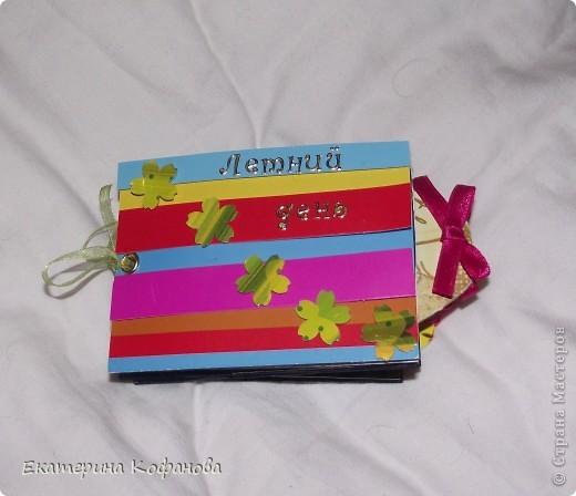 Коробочка для мини- альбомчика фото 3