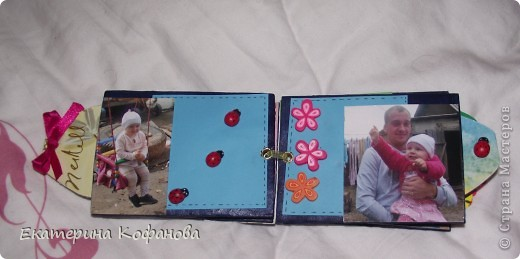 Коробочка для мини- альбомчика фото 5