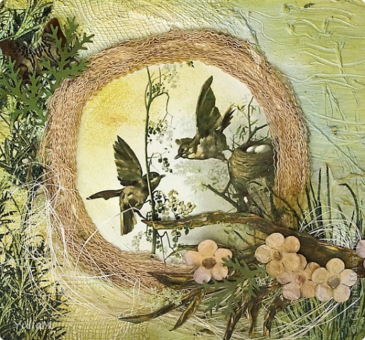 Доброго времени суток, Страна! Сегодня я к вам с открытками,  объеденными одной темой и несущими одну мысль: любите жизнь! Как часто в круговороте будничных дел мы забываем о красоте окружающего нас мира - с его безграничными полями, дремучими лесами, глубокими реками...А ведь именно он и есть проявлением настоящей жизни во всей ее красоте и чистоте...Эти две открытки - напоминание о той, настоящей, ЖИЗНИ - - с зеленой глубиной травы и листьев, с теплотой солнца, с благодатью земли, с пением птиц. фото 2
