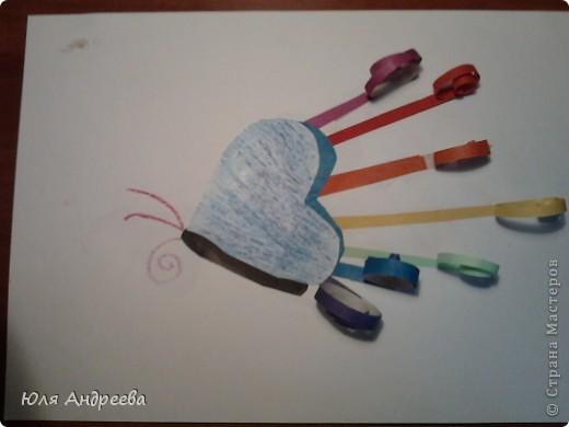 Радужная бабочка фото 1